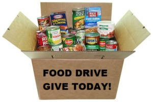 Food drive Boxes