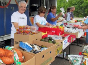 mobile food drives
